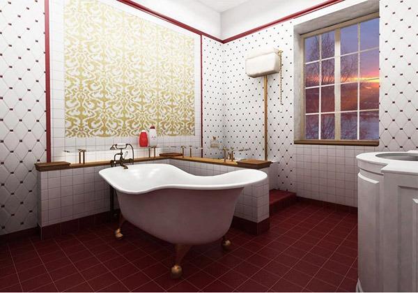 Кафкль в ванной