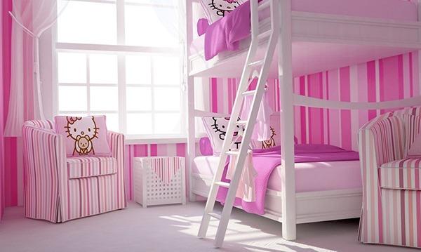 Оформление комнаты девочек