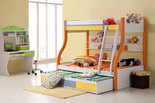 Детская на двоих кроватка