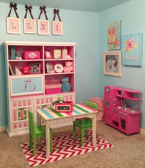 Детская для девочки игровой уголок
