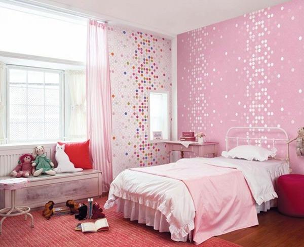 Детская розовая