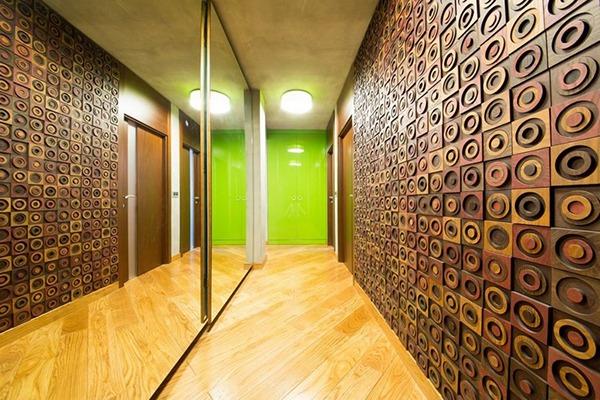 Деревянный коридор
