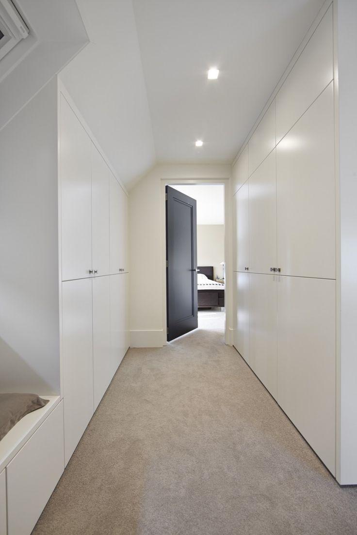 Отделка коридора панелями белыми