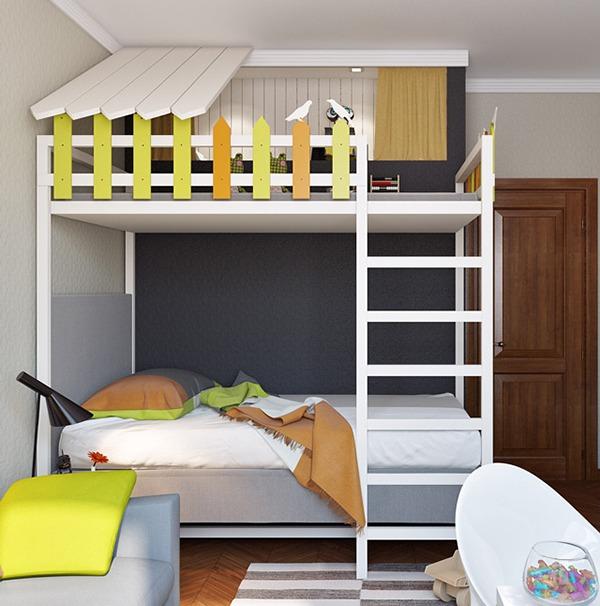 Детская комбинированная кроватка
