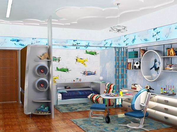Детская комната для парня