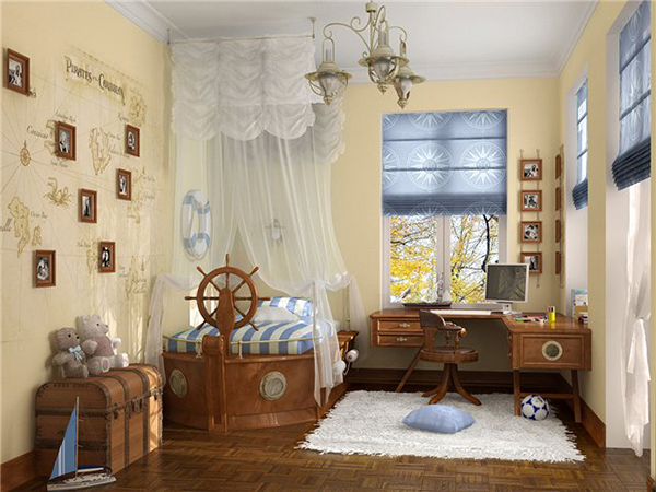 Детская комната морская