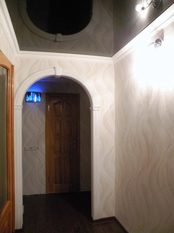 Коридор с красивой аркой
