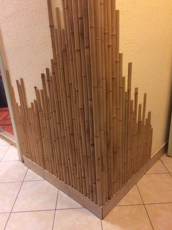 Отделка бамбуком