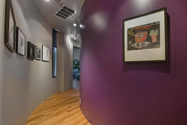 Фиолетовый коридор