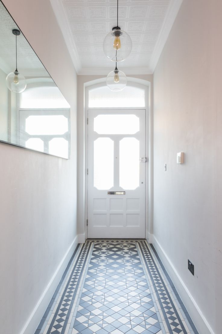 Плитка в интерьере коридора