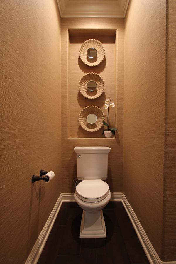 Туалет бежевый