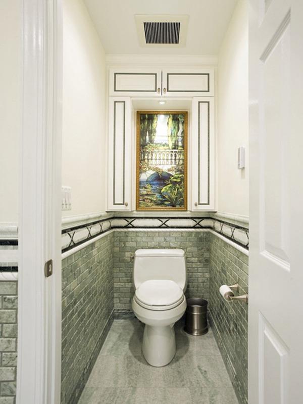 Туалет стилизованный