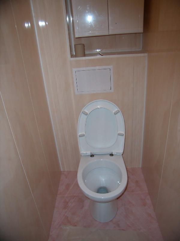 Туалет маленькой