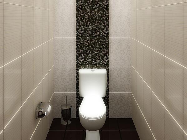 Туалет с панелями