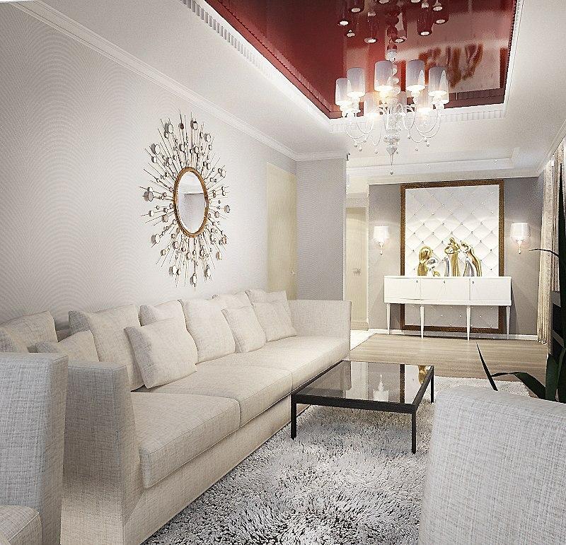Проект квартиры 75 кв.м.