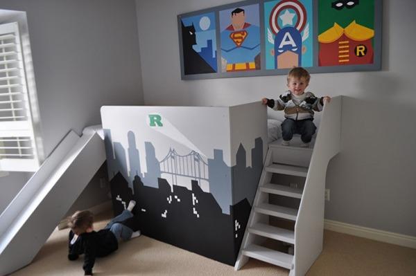 Комната для двух маленьких мальчиков