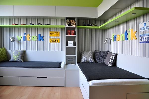 Комната для мальчиков разного возраста