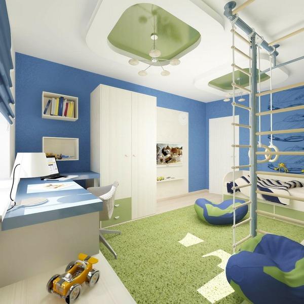 Оформление комнаты для двоих мальчиков