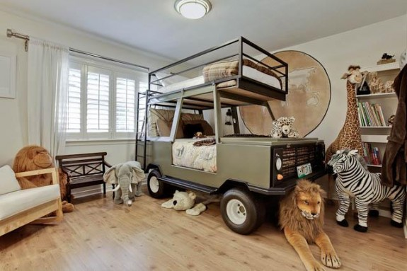 Мебель в комнате для двух мальчиков