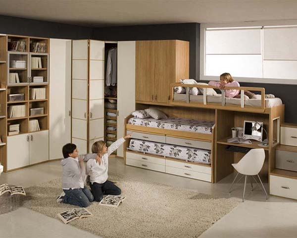 Комната на троих детей