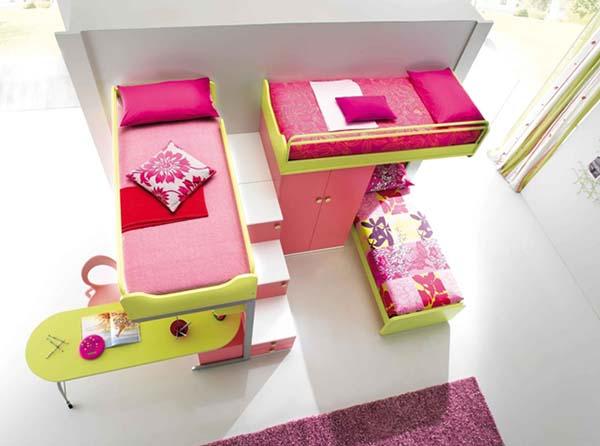 Комната для троих девочек