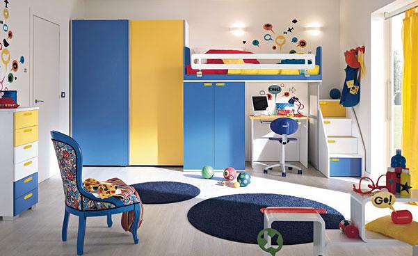 Дизайн детской для ребенка 6-8 лет