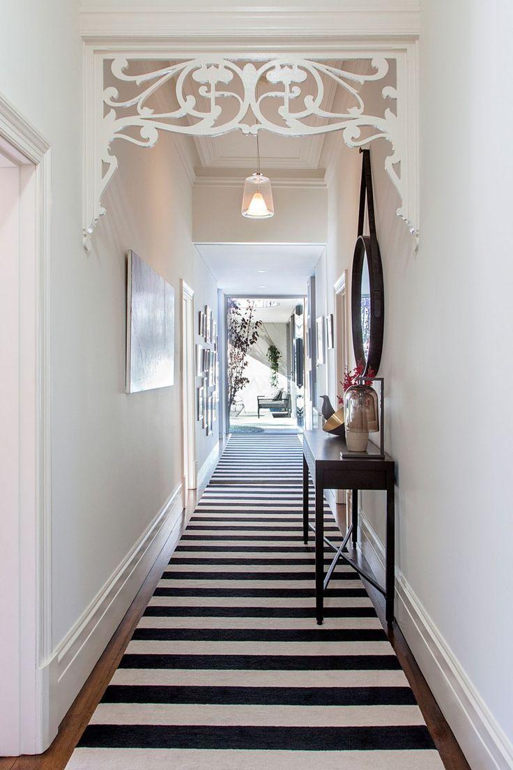 Ремонт коридора с ажурной аркой