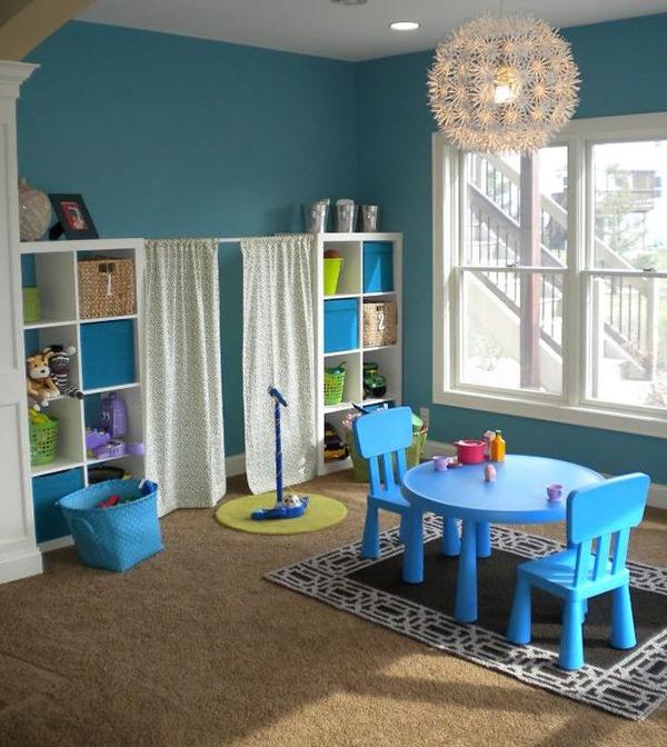 Декор детской комнаты на даче