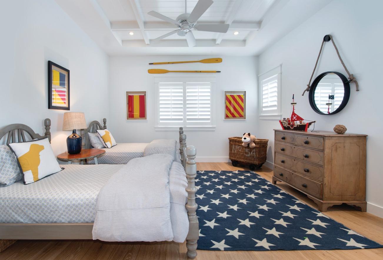 Дизайн детской комнаты для двух мальчиков в доме