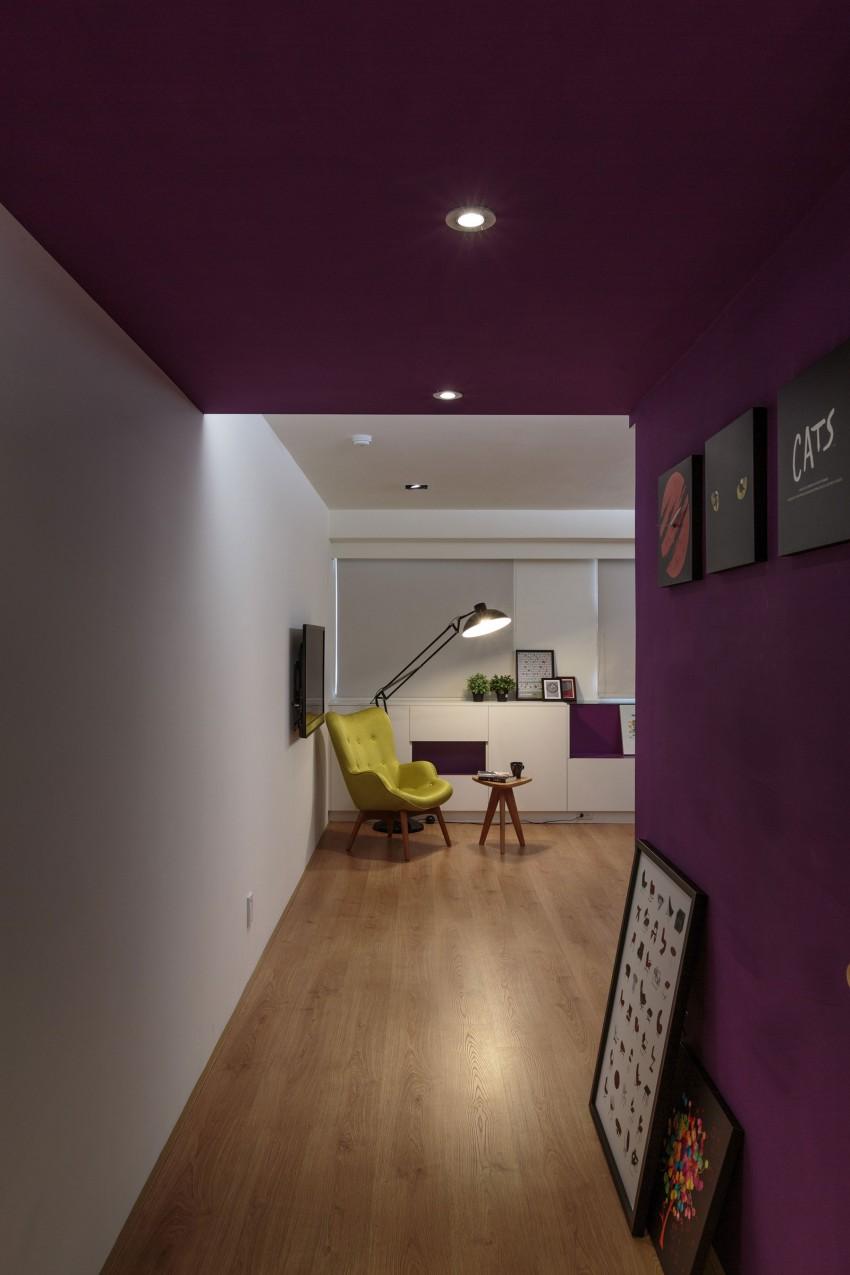 Оформление коридора с гипсокартонными стенами