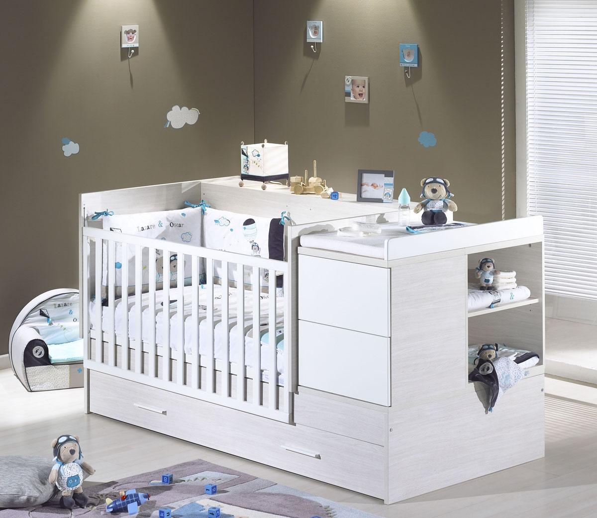 Декор детской кроватки для мальчика