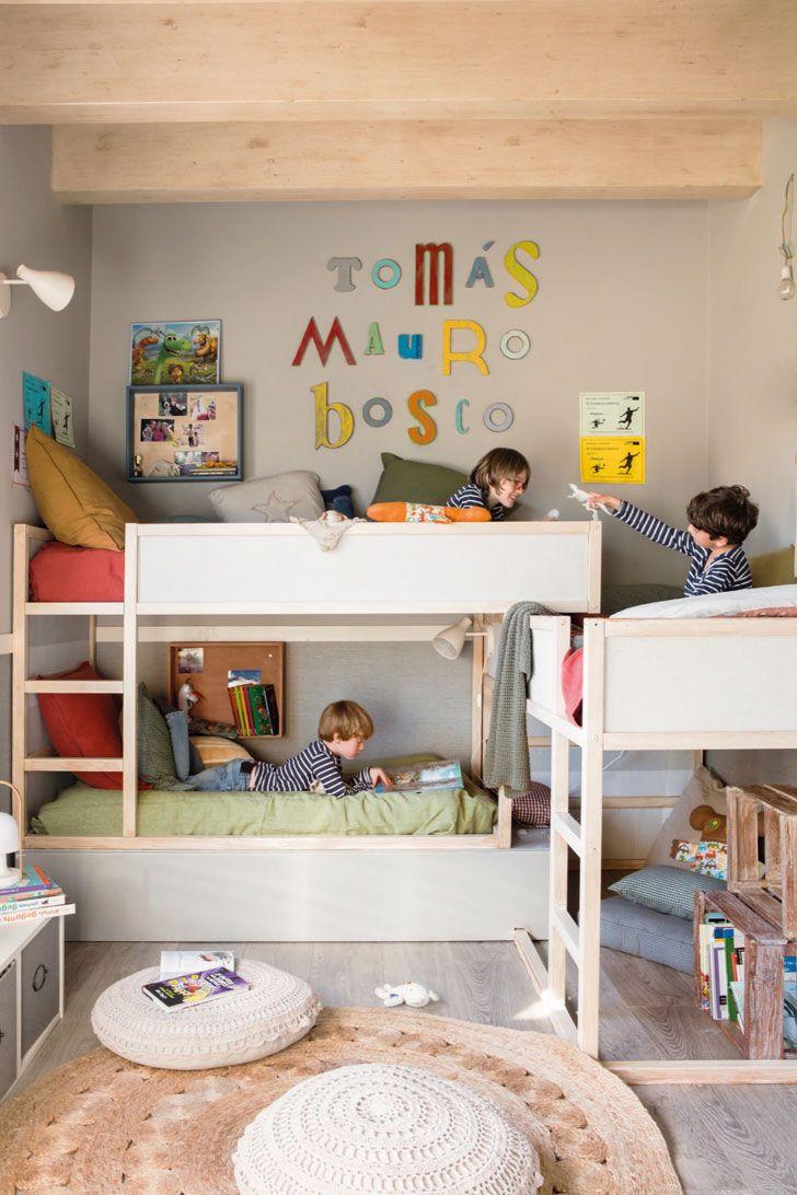 Детская для троих мальчиков