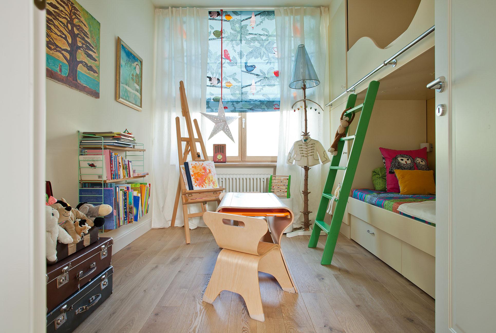 Дизайн детской комнаты для двух мальчиков маленькой