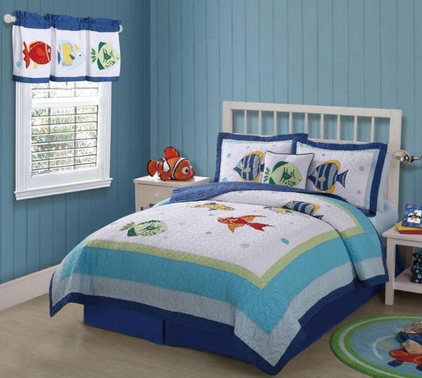 Мебель для детской в морском стиле