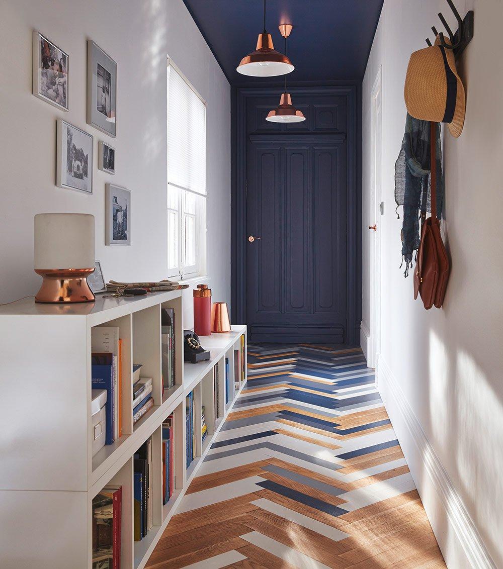 Оформление коридора мебелью