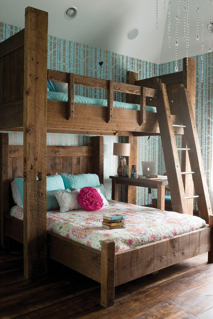 Дизайн детской комнаты для двух мальчиков рустикальный