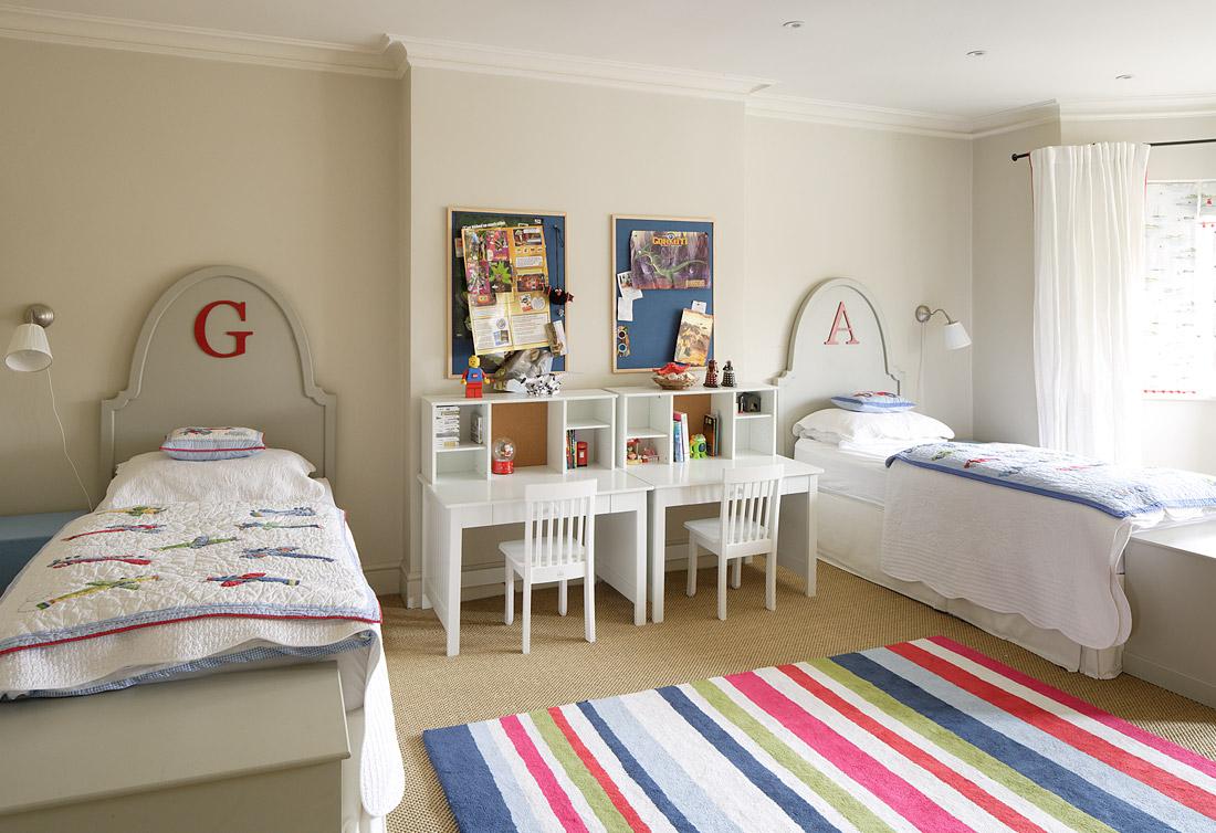 Дизайн детской комнаты для двух мальчиков тематический