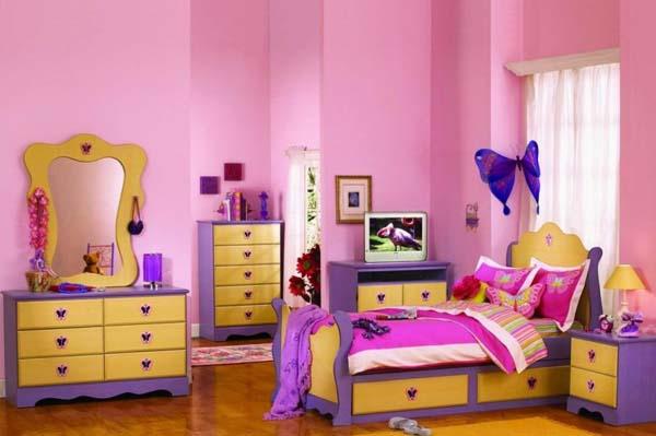 Ремонт в комнате для девочек