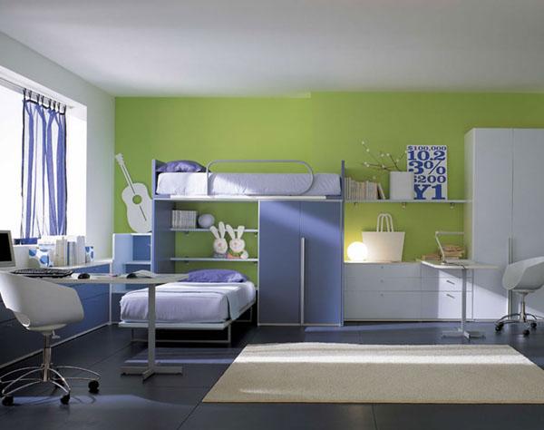 Оригинальный дизайн для детской комнаты