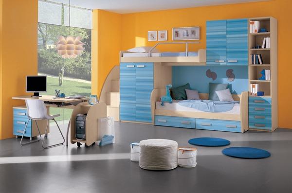 Идеи по планировке детской комнаты в 7 кв м
