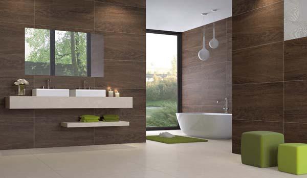 Декор ванны и туалета в деревянном доме