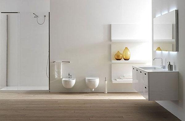 Обустройство туалета в загородном доме