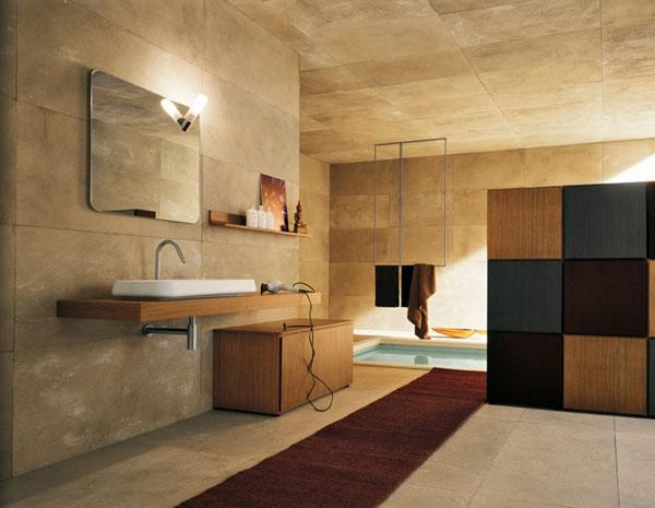 Оформление туалета из гипсокартона в деревянном доме