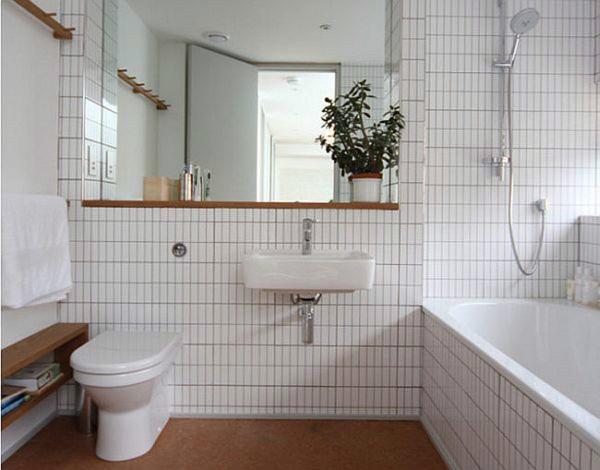 Декор в ванной и туалете