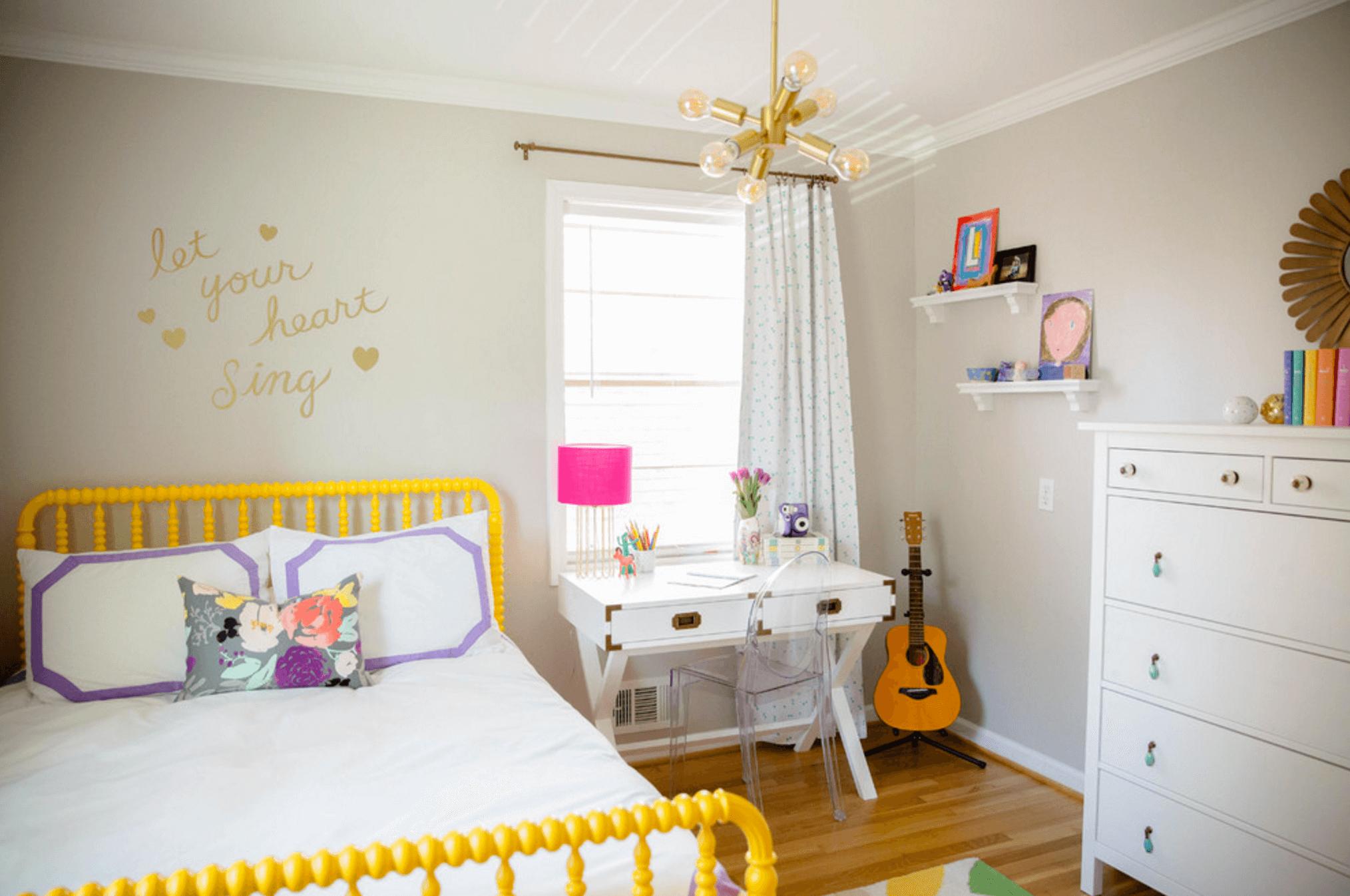 Детская комната в хрущевке для девочки