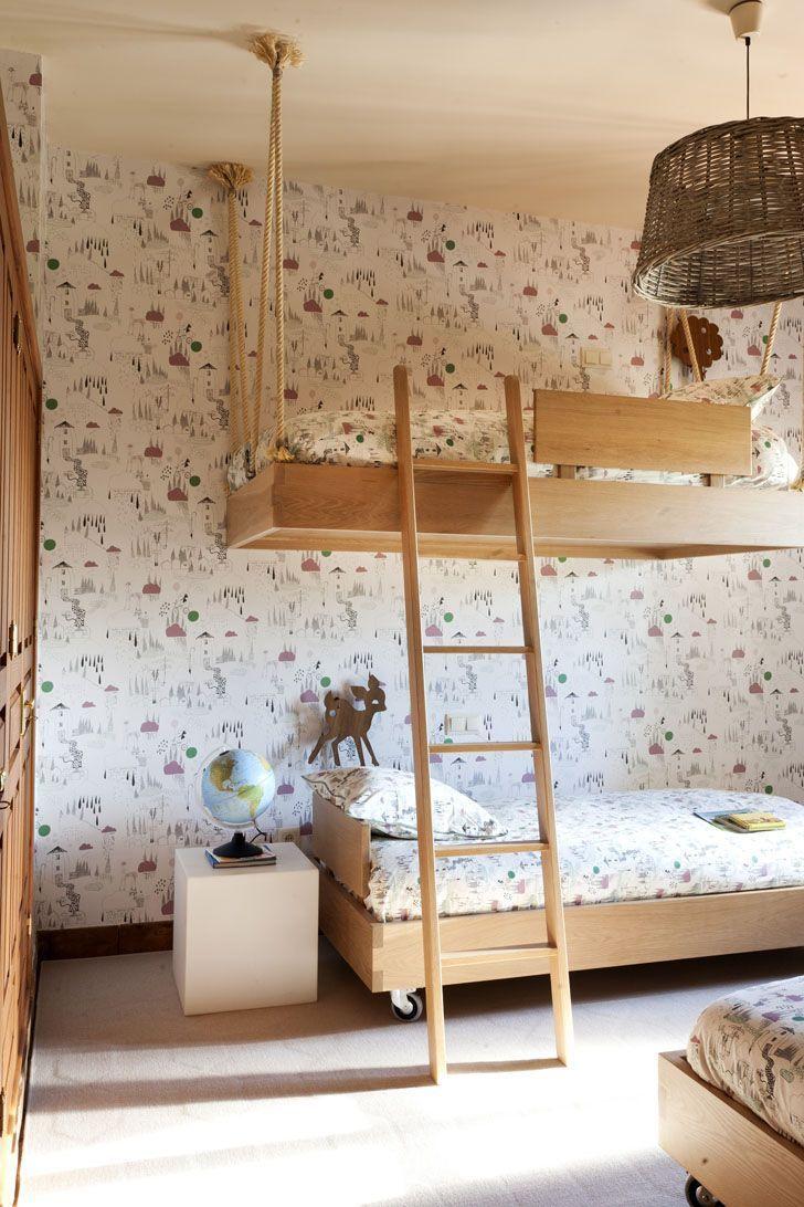 Детская комната в хрущевке в стиле эко