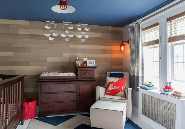Интерьер и планировка в детской комнате