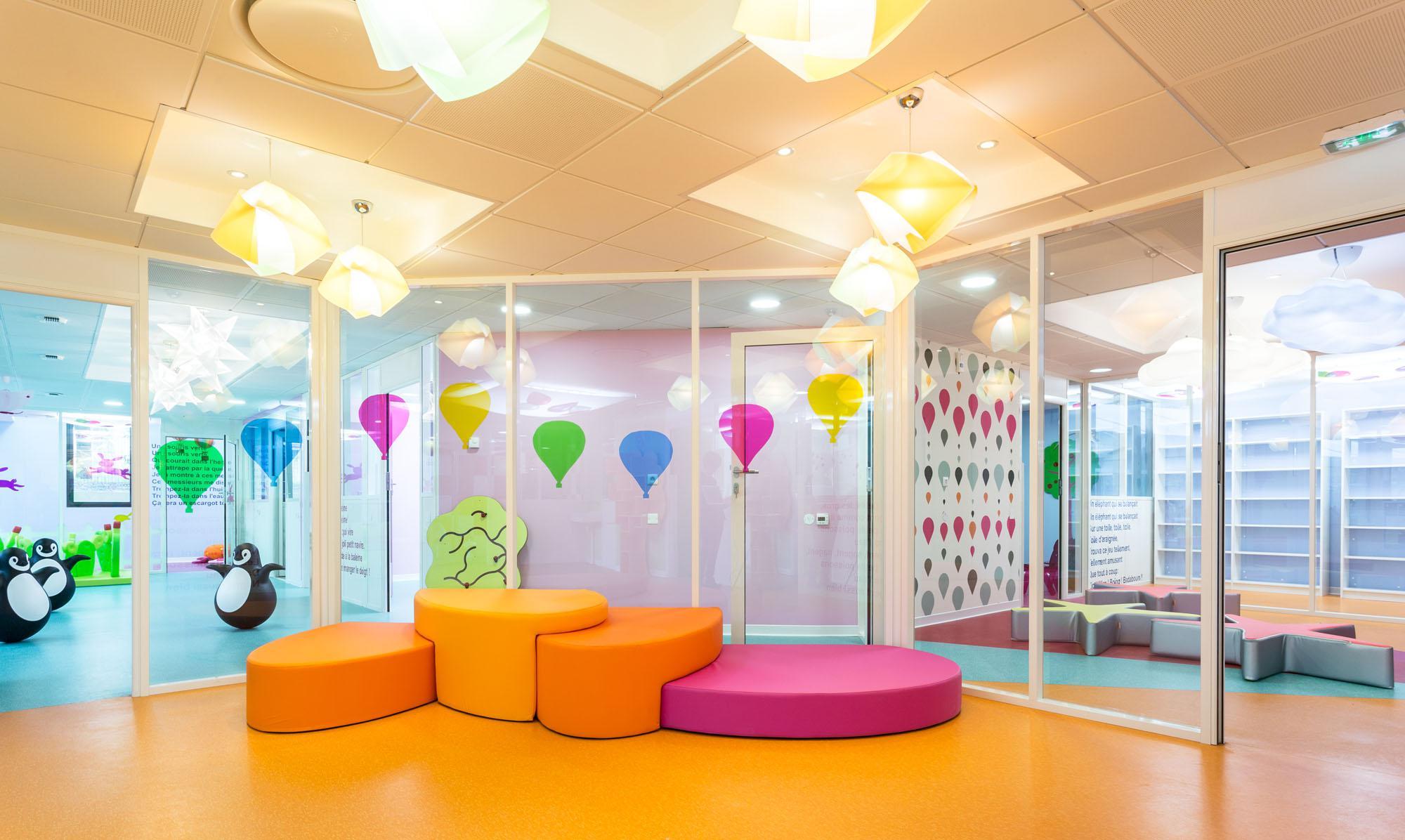 Оформление группы в детском саду мебелью