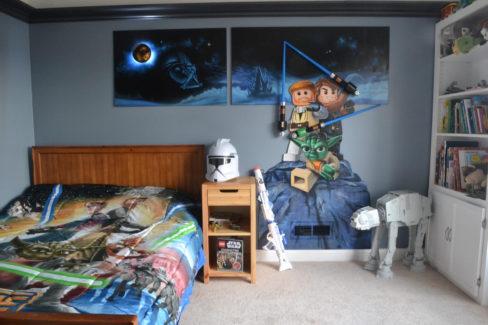 Детская комната в хрущевке в стиле звездных войн