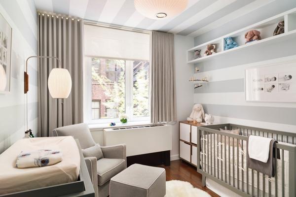 Интерьерные решения в узкой детской комнате